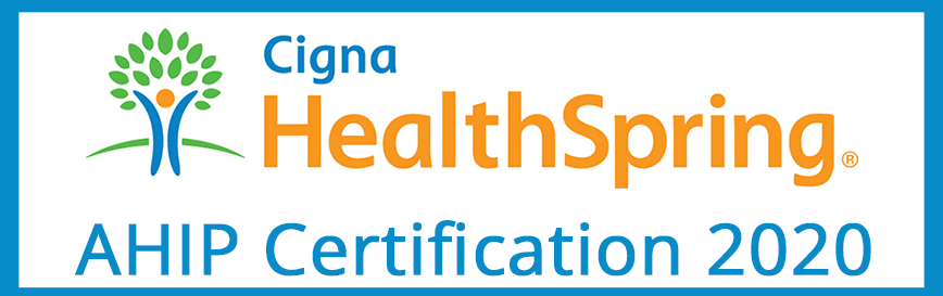 Cigna-HealthSpring and AHIP Certification