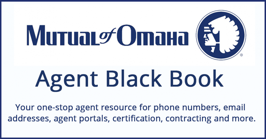 Mutual of Omaha Agent Black Book