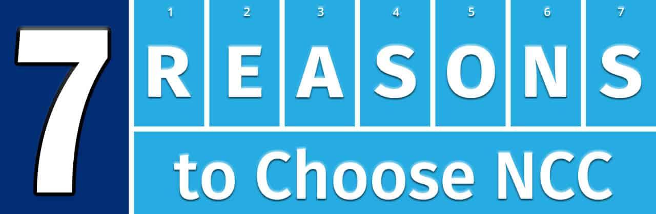 7 Reasons to Choose NCC