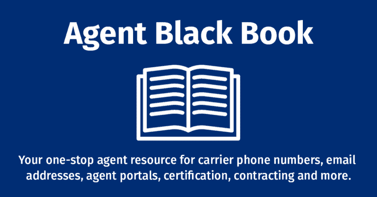 Agent Support Black Book