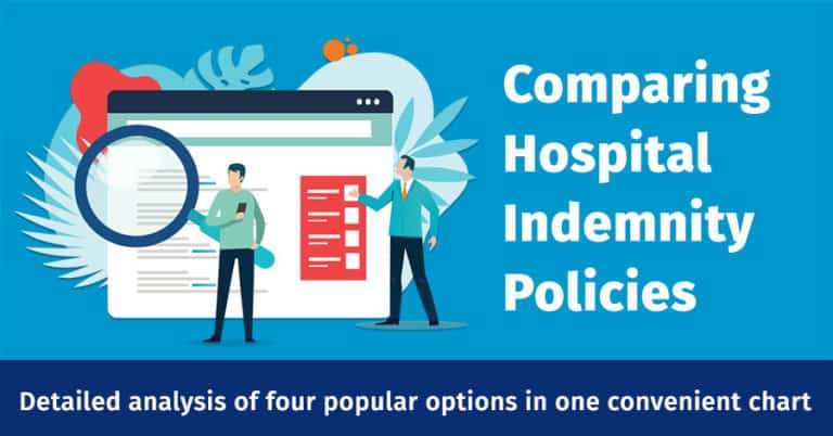 Hospital Indemnity Comparison Chart