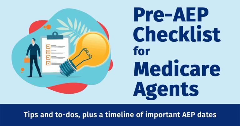Pre-AEP Checklist for Medicare Agents