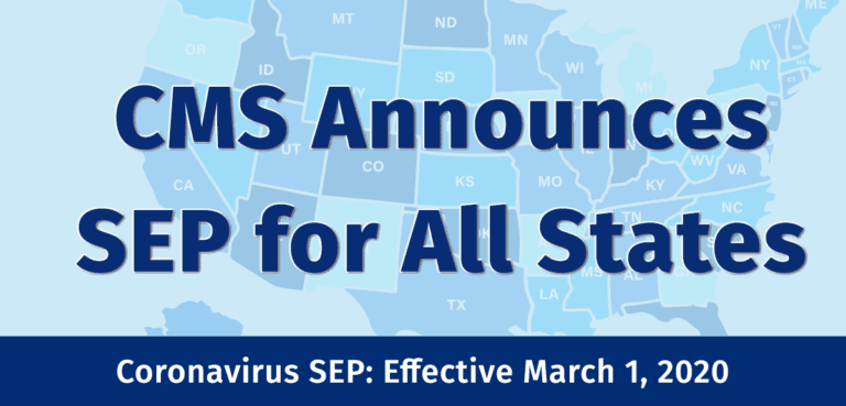 CMS Grants COVID-19 SEP for All States