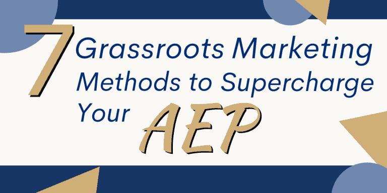 Grassroots Marketing Medicare AEP
