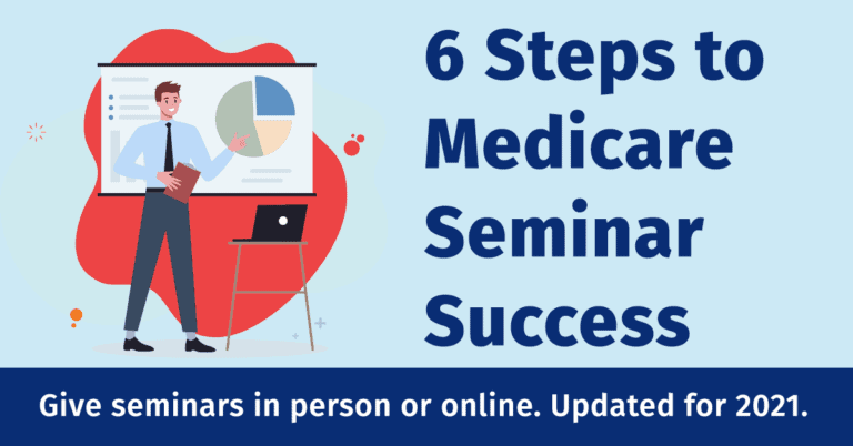 6 Steps to Medicare Seminar Success